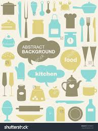 Cute Kitchen Cute Kitchen Pattern Vector Illustration 100308671 Shutterstock