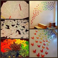 12 Photos Gallery of: DIY Paper Wall Art Projects You Can Do In Your Free  Time