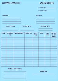 free price quote template free price quote template sample quotation form format download doc