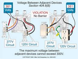 installing a 120v switch in the same box with a 277v switch 277v lighting wiring diagram installing a 120v switch in the same box with a 277v switch electrical construction & maintenance (ec&m) magazine