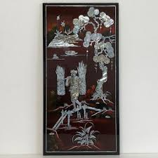 lacquer vietnamese inlaid with mother of pearl on vietnamese wall art mother of pearl with lacquer vietnamese inlaid with mother of pearl meubles