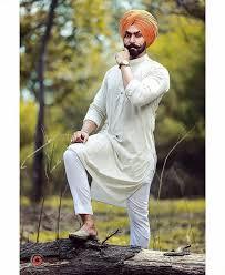 Punjabi Sardar Munde Wallpaper Kurta Pajama Punjab Style