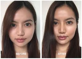 cheek contour before and after. contouring-and-highlighting-before-and-after cheek contour before and after