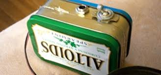 build your own mini altoids guitar amp for about 5