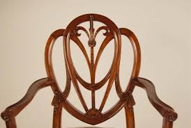 Shield Back Chairs Duncan Phyfe S  Piece Mahogany Dining Room - Shield back dining room chairs