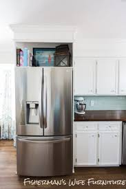 Over The Fridge Cabinet Best 25 Cabinet Depth Refrigerator Ideas On Pinterest Built In