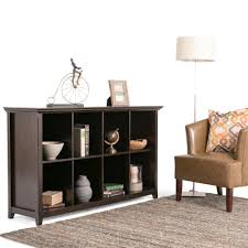 Bookcase Table Simpli Home Amherst Dark Brown Open Bookcase Axcamh 005 The Home