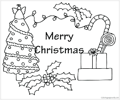 Printable Coloring Pages Of Christmas Ornaments Avatherminfo