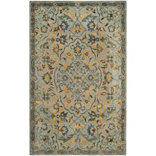 safavieh bella gray gold 5 ft x 8 ft area rug