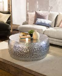 73 most class drum metal coffee table from house of fraser dfs wood nz for silver