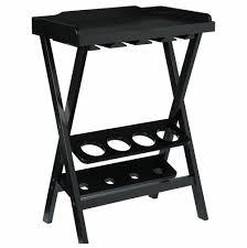wooden 4 bottles and glass rack folding wine bar table wine rack bar table81 wine