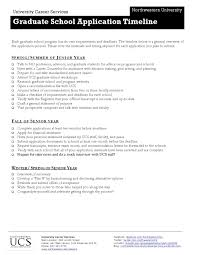 ucs letter of recommendation graduate school application timeline by northwestern