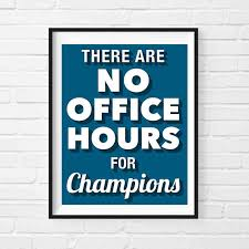 posters for office. Champions Motivational Print, Poster, Office Decor, Gift For Boss, Cool Wall Art, Inspirational Quote Print Posters