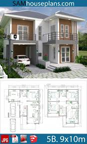 Pin by Maricel on Home in 2020 | Philippines house design, Duplex house  plans, House construction plan