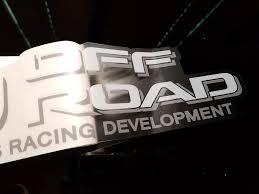 LRD Lexus Racing Development Decal – Cruiser Gear