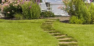 patio stones with grass in between. Simple Stones Stepping Stones Leading To Swing Intended Patio Stones With Grass In Between