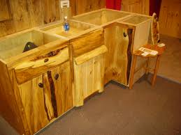 Rustic Log Kitchen Cabinets Home Design Part 4