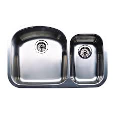 blanco wave plus undermount stainless steel 32 in 1 1 2 bowl kitchen sink 440167 the home depot