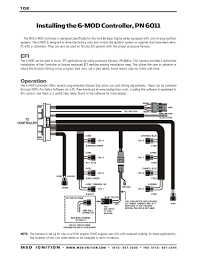 msd ignition wiring diagrams msd 6 mod series installation instructions part 1