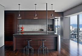 kitchen modern granite. Grey Granite Countertop Kitchen Modern With Bar Stools Barstools Dark. Image By: Zackde Vito Architecture Construction M