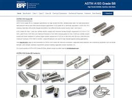 Astm Equivalent Material Chart Bolting Material Chart Boltport Fasteners Llp