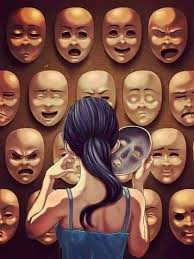 faces, life, mask and sad - image #3527316 on Favim.com