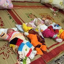4 trẻ sơ sinh đáng thương bị bỏ rơi ở Hải Dương