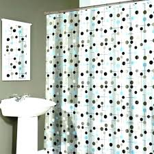 white and gold polka dot curtains shower curtain chic just po