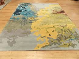 green and yellow rug 8 x gray yellow green blue contemporary hand tufted green and yellow striped rugby shirt