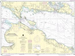 Noaa Navigation Charts Noaa Nautical Chart 14880 Straits Of Mackinac