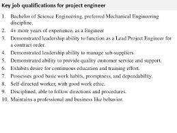Project Engineer Mechanical Job Description Project Engineer Job Description