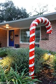 Light Up Garden Candy Canes How To Make Diy Lighted Pvc Candy Canes Amber Oliver