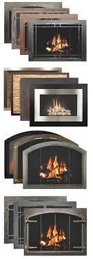 glass fireplace doors installed on stony creek rd sunnybrook
