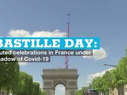 Bastille Day: Muted celebrations in ...