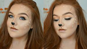 deer makeup tutorial easy makeup look