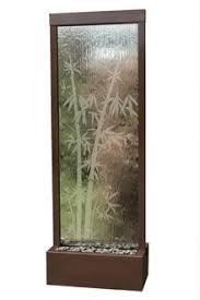 floor outdoor fountains. Indoor Floor Fountain In Dark Copper And Bamboo (6 FT). Larger Image Outdoor Fountains