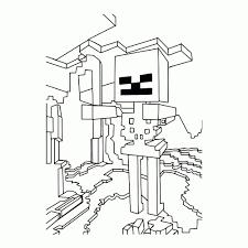 100 Minecraft Poppetjes Maken Kleurplaat 2019