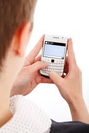 stock photo of blackberry business cell