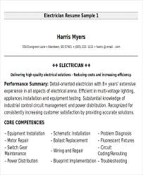 Electrical Technician Cv Example Best Solutions Of Sample Resume
