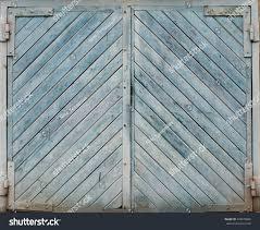 Light Blue Barn Door Light Blue Barn Garage Wooden Door Stock Photo Edit Now