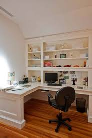 home office in basement. for home officelibrary wood floors with white builtin bookshelves ignore desk office in basement 0