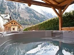 Chalet Le Flocon Chamonix Hot Tub Large Garden Fireplace Mont