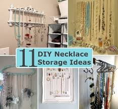Necklace Storage Ideas