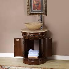 bathroom cabinets for vessel sinks. 24\u201d maya - bathroom vanity cabinets for vessel sinks