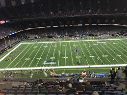 Saints Superdome Virtual Seating Chart Superdome Section 641 New Orleans Saints Rateyourseats Com