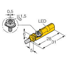 turck magnetic field sensor bim unt rp6x