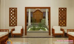 Living Room Designed Traditional Kerala Living Room Designs