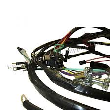 complete wiring harness made in the usa fits 66 71 cj 5 v6 more views complete wiring harness