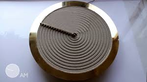 The Lab By Sand Design Studio Studio Ayaskan Designs Clock That Rakes Sand To Show The