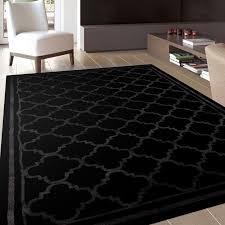 elegant black rugs with regard to contemporary rug roselawnlutheran plan 10